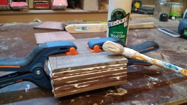 Fabrication d'une poulie en bois 20151018