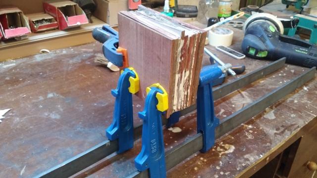 Fabrication d'une poulie en bois 20151019