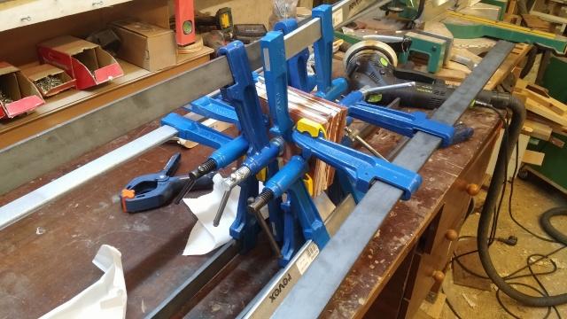 Fabrication d'une poulie en bois 20151020