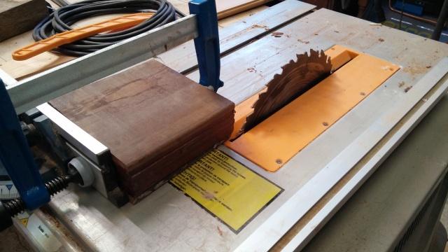 Fabrication d'une poulie en bois 20151021