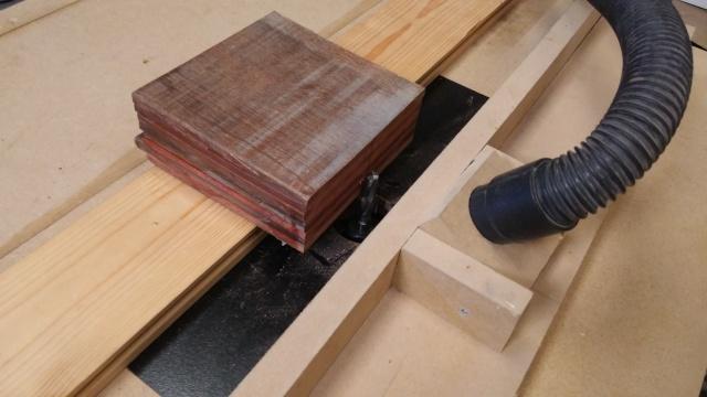 Fabrication d'une poulie en bois 20151022