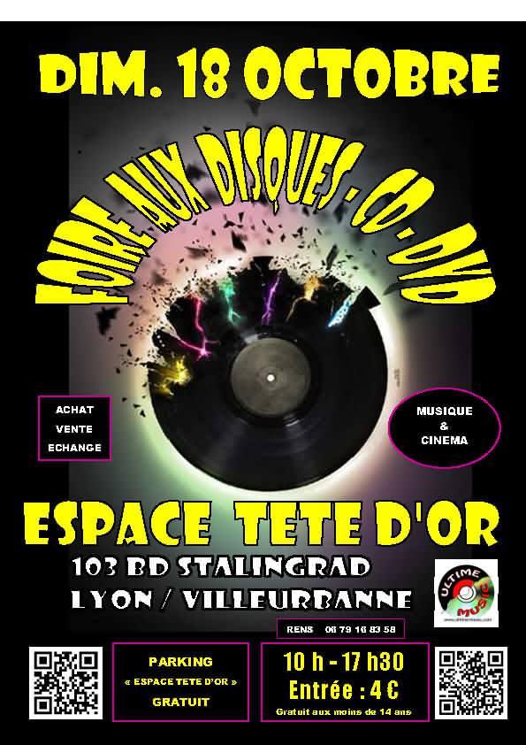 FOIRE AUX DISQUE DE LYON LE 18 OCTOBRE 2015 Foire_10