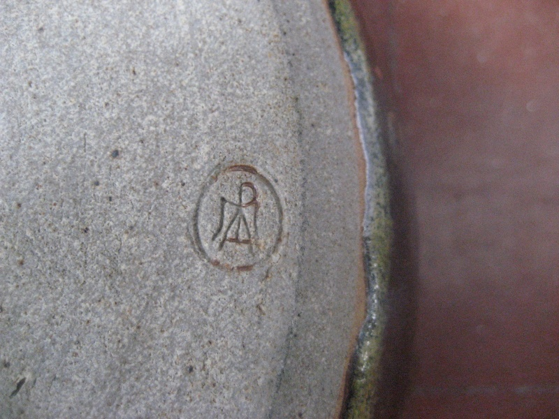 Pot with lid marked with symbol or maybe MPA? Img_0812