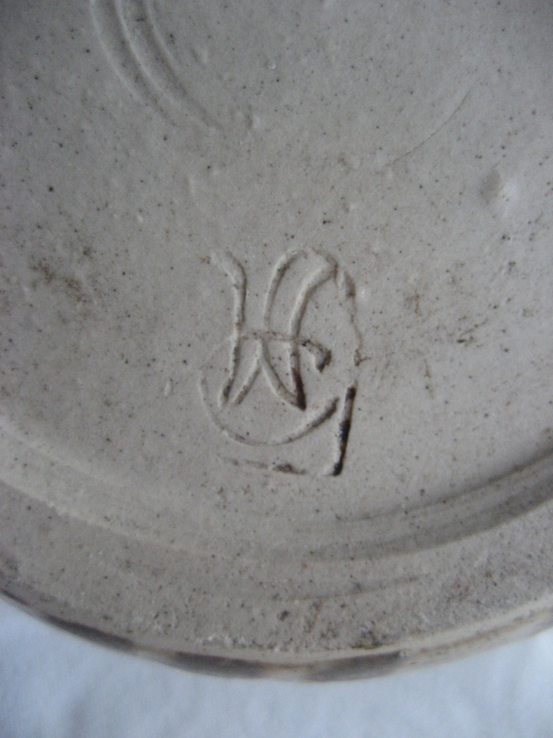 Wide Vase With C and Something Else Stamped Img_1015