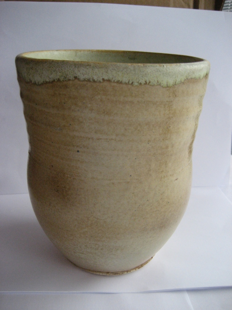 Vase 17cm Tall For ID. Similar To Remued Pottery. No Mark. Img_1316