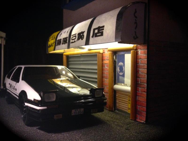 Ae86 initial D et son tofu shop ! 210