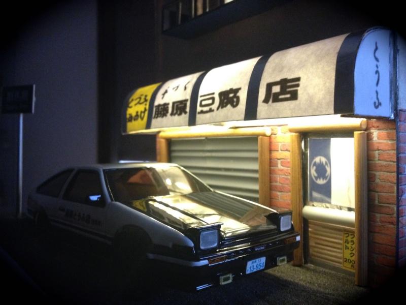 Ae86 initial D et son tofu shop ! 311