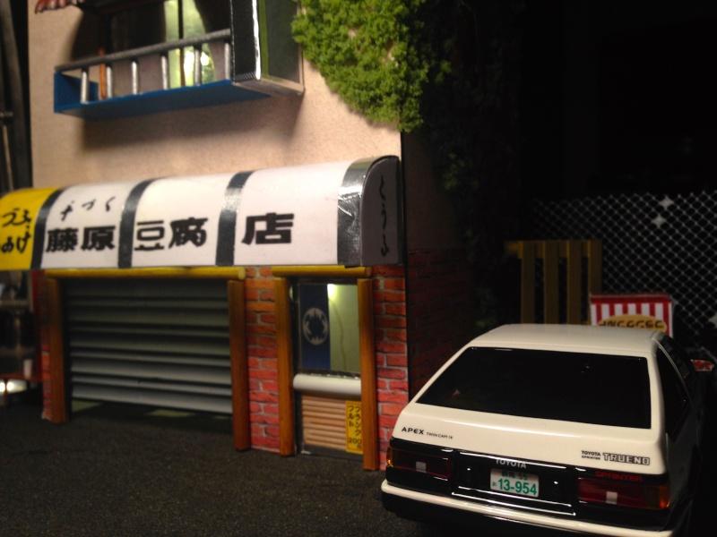 Ae86 initial D et son tofu shop ! 610