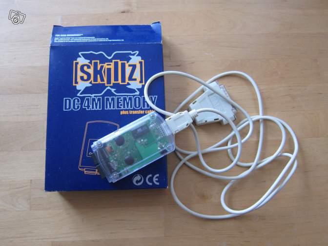 Carte mémoire Dreamcast Skillz Ae0c8510