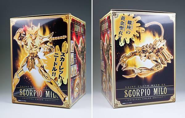 Myth Cloth EX Milo du Scorpion OCE ( 23 Septembre 2015 ) M414