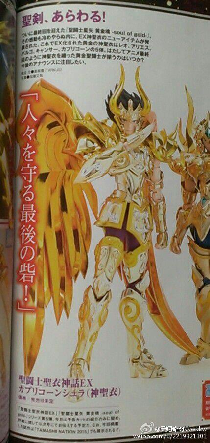 Myth Cloth EX Soul of Gold Shura du Capricorne - 28/04/16 S116