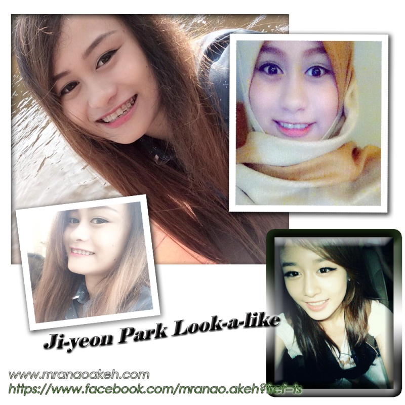Ji-yeon Park Look a like Jiyeon10