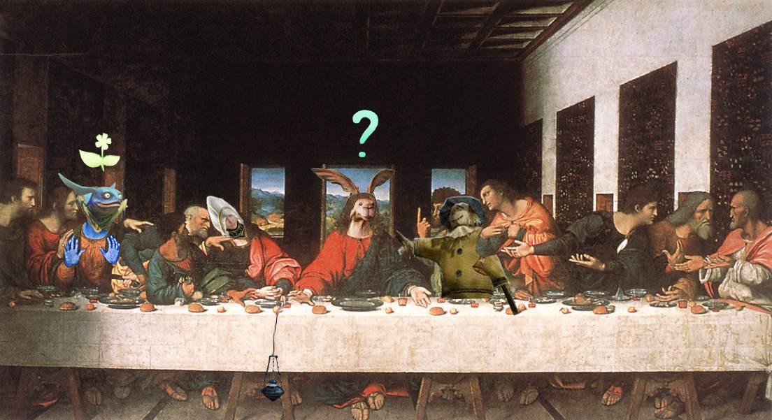 Le fameux tableau de Leonarcheagedo de Vinci à été enfin retrouvé! Enjoy :-) La_cen10