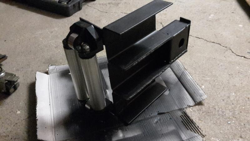 Support frontal pour treuil électrique - D30s 2015-112