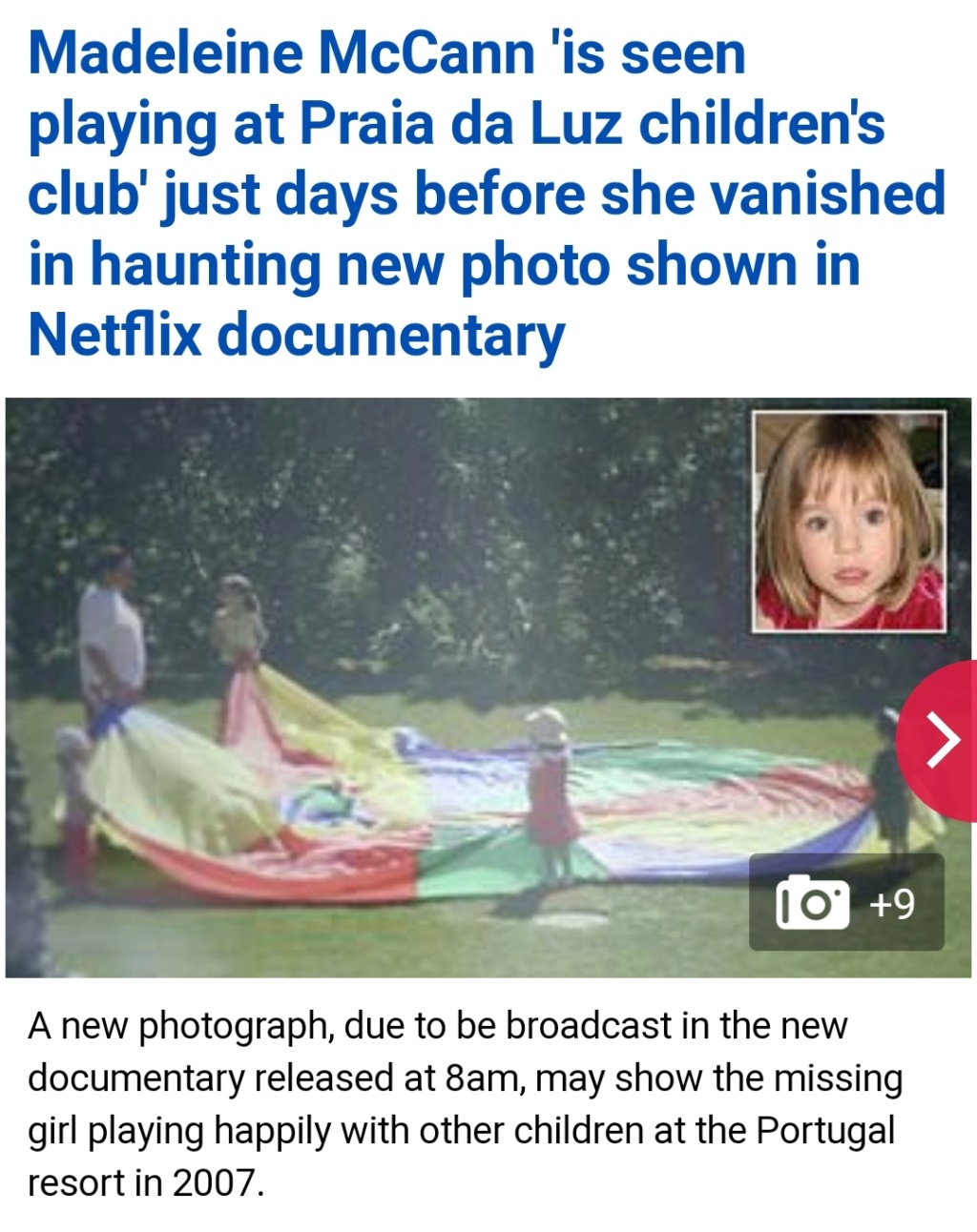 Netflix probes Madeleine McCann disappearance in new documentary - but parents Kate and Gerry want 'NOTHING to do' with controversial film - Page 5 Scree113