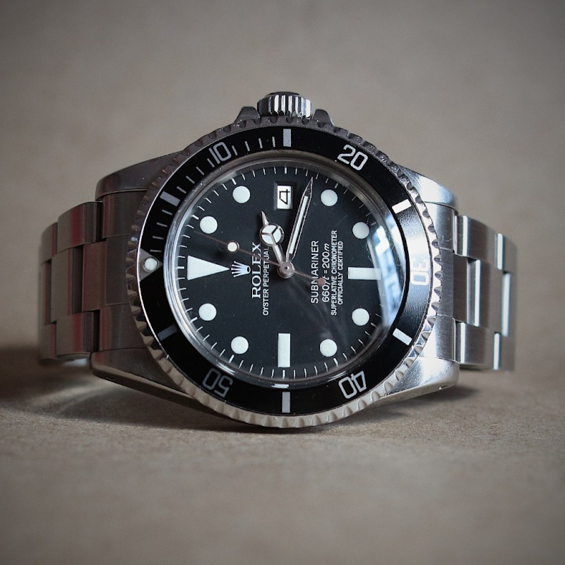"Submariner Date 1680 ""Blanche"" 16543211"