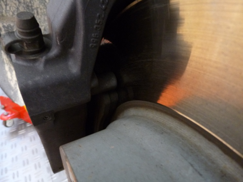 Lifting mécanique Boxster 986 de 2000 P1030710