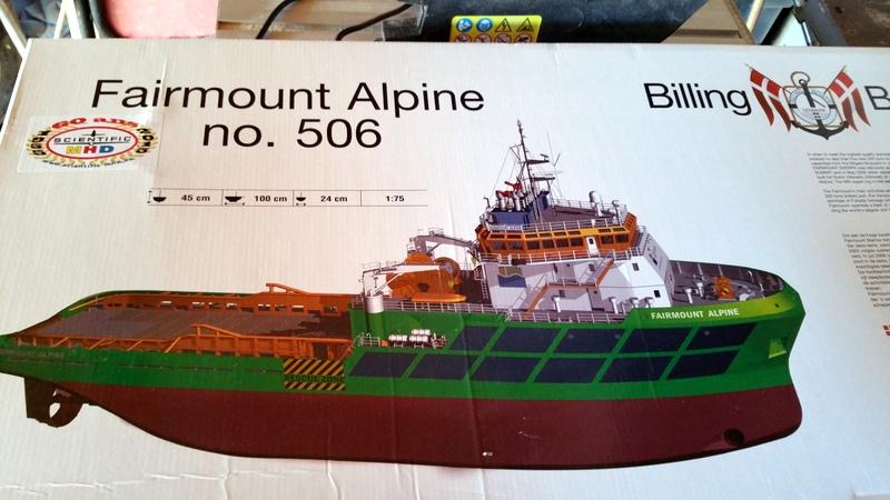 fairmount alpine remorqueur de haute mer 1/75  20151016