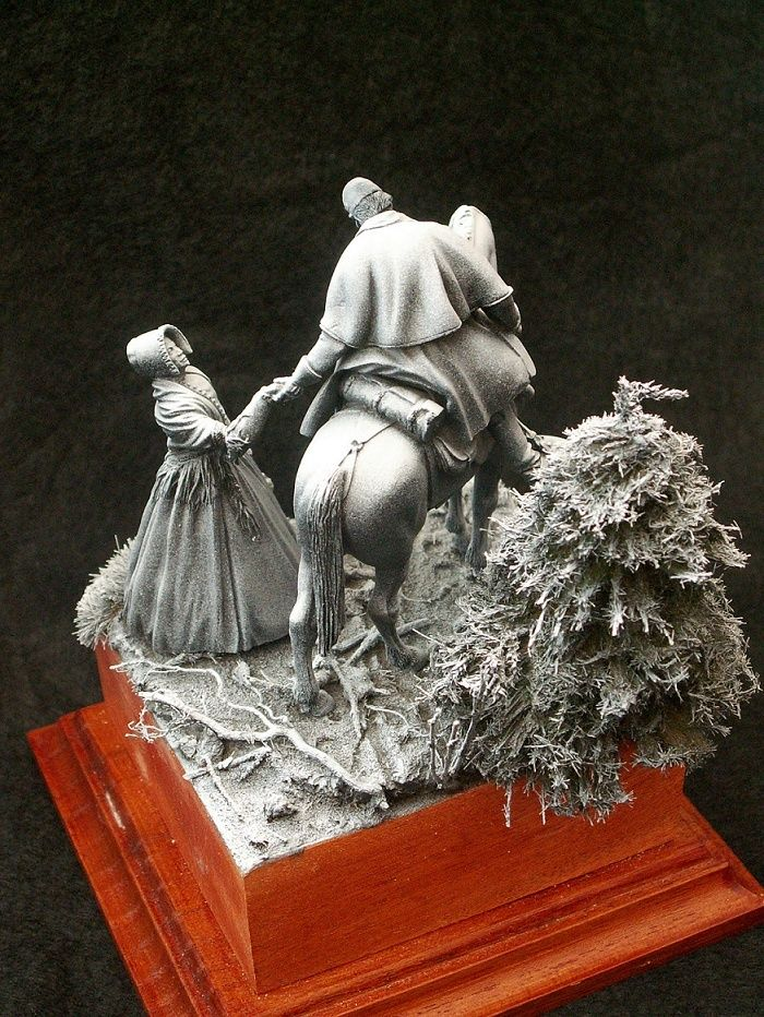 """""""The last goodbye"""" Kings figurine,série Nord-Sud 54mm Pict2111"""