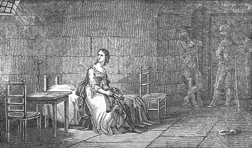 La Conciergerie : Marie-Antoinette dans sa cellule. - Page 3 Zcell10