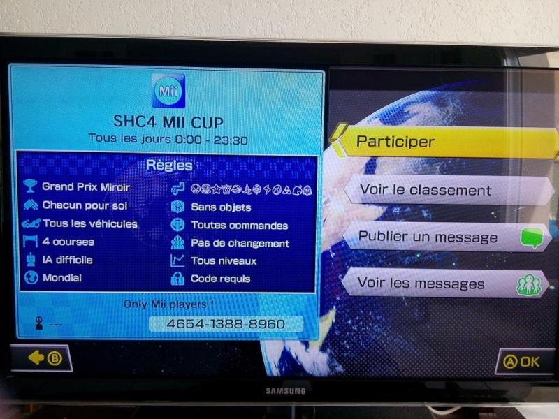 tournoi MK8 organiser par shen Coofir10