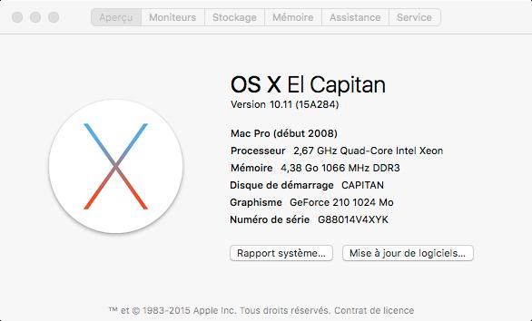 Os x El Capitan est sur APP-Store Cap10