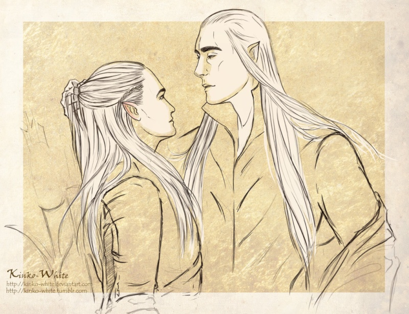 The Elvenking punishing The Prince! You_be10