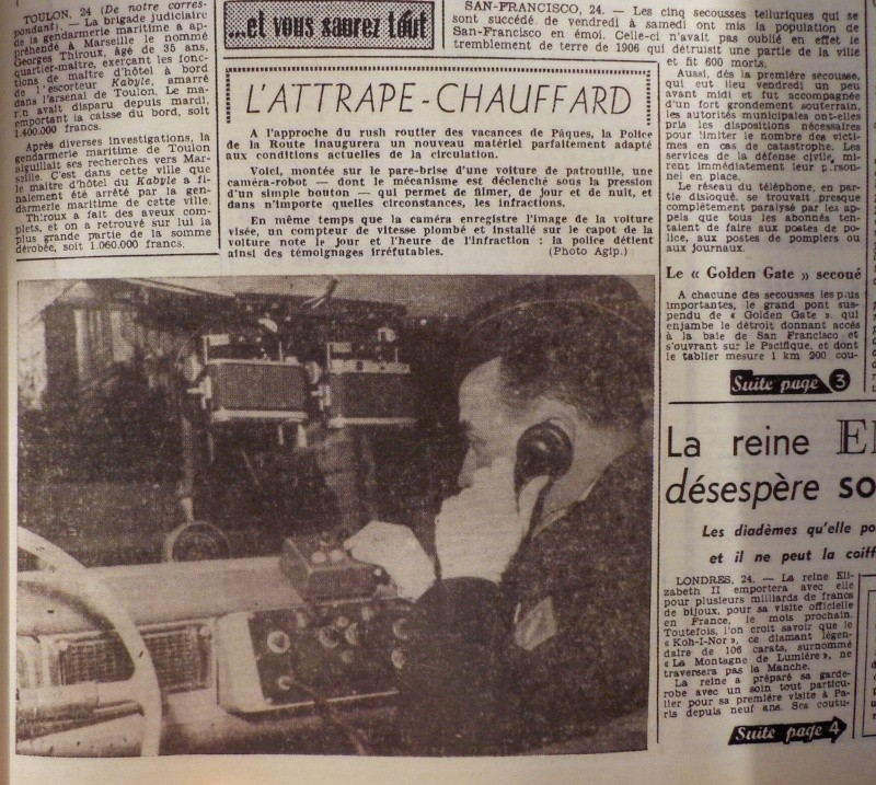 """Les premiers """"radars"""" routiers Dscn1411"""
