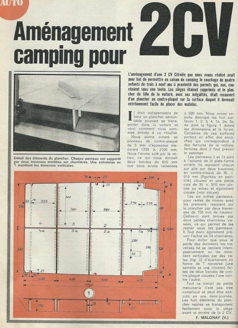 Toit en tôle et camping pour 2cv  Scan110