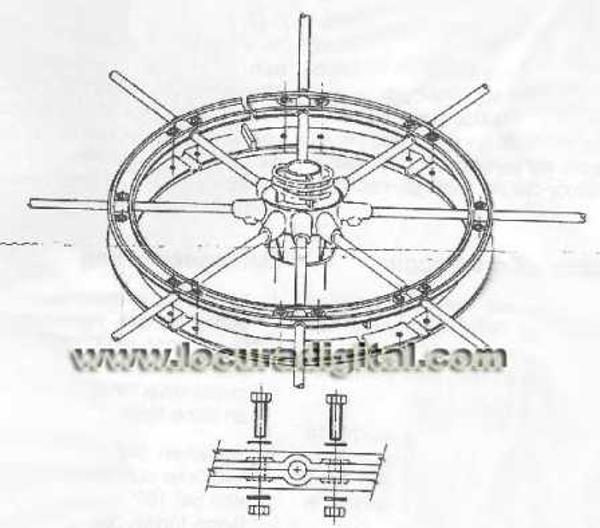 Sirio 827 Rond de nylon anti-vibration (Station fixe) 167c5f10