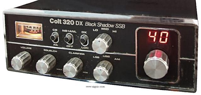 Colt 320 DX Black Shadow SSB (Mobile) Colt_310