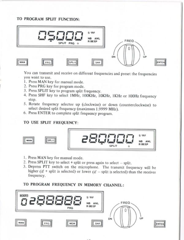 Galaxy - Galaxy Uranus, Sommerkamp TS-789DX, RCI 2900 Poste-19