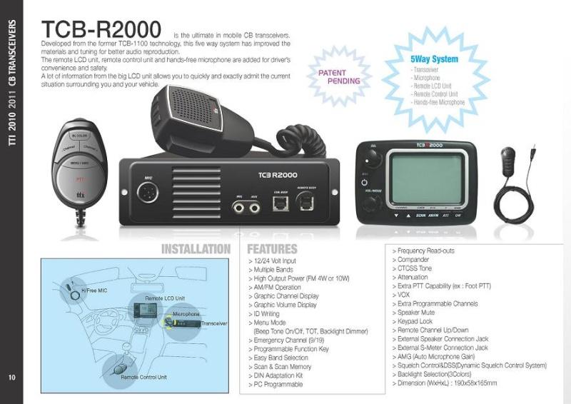 tti TCB-R2000 (Routier Camping-car) Tti-tc10
