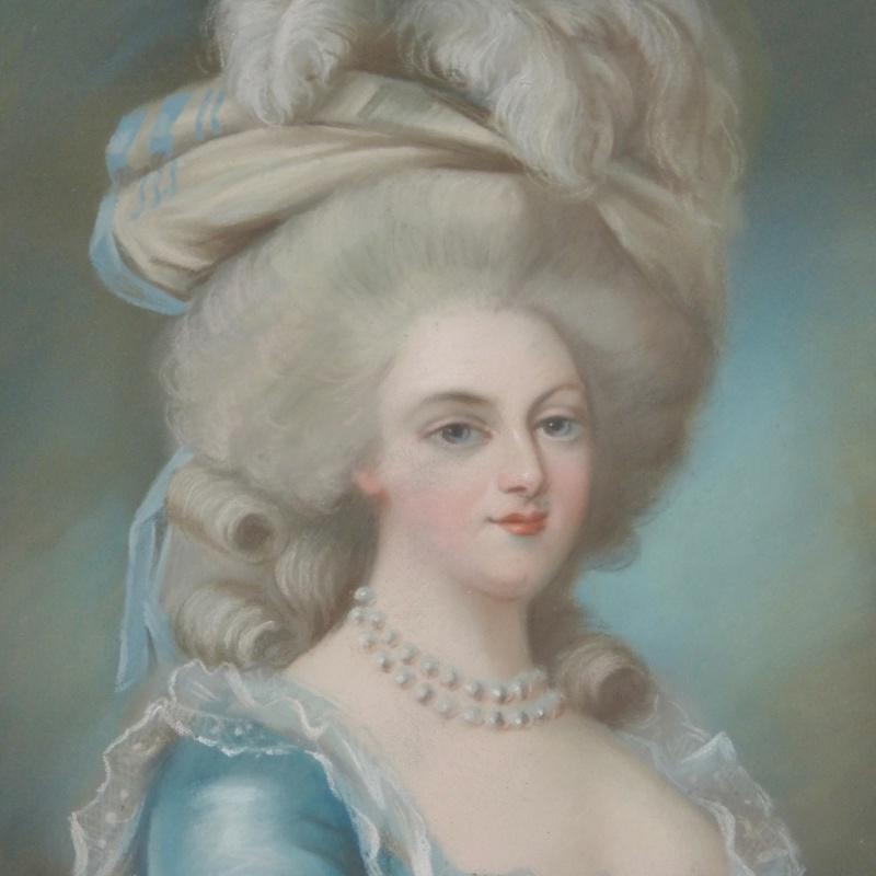 A vendre: tableaux Marie-Antoinette, Versailles et XVIIIe siècle 13407311