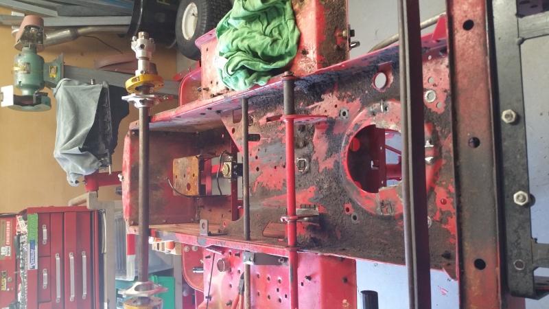 MTD Mower ATV engine swap 20151016