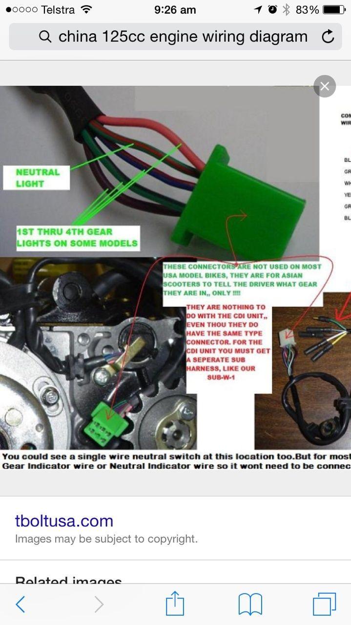 MTD Mower ATV engine swap Image113