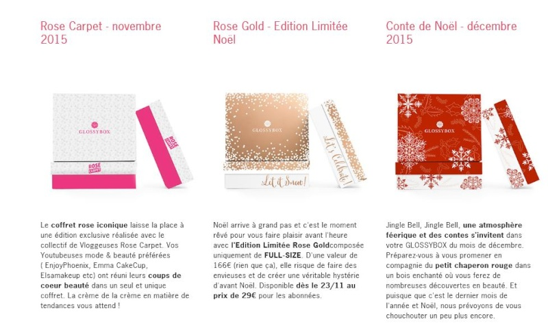 [Octobre 2015] Glossybox - Page 4 Glossy11