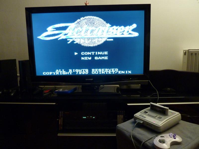 SNES - Super Nintendo en panne - plus d'image P1030519