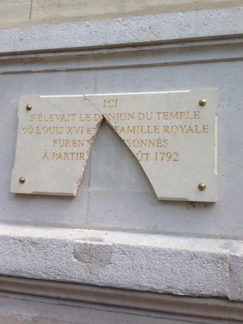 Remplacement de la plaque commémorative de la Mairie du IIIe Arrondissement Zzzz10