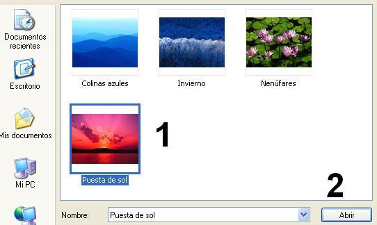 Cómo insertar una imagen desde Servimg Servim12