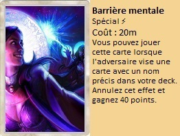 Liste des cartes Illusion Barriy19