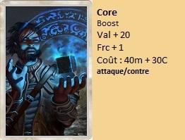Liste des cartes Illusion Core11