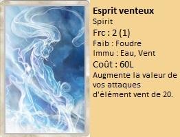 Liste des cartes Illusion Esprit21