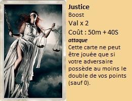 Liste des cartes Illusion Justic11