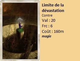 Liste des cartes Illusion Limite10