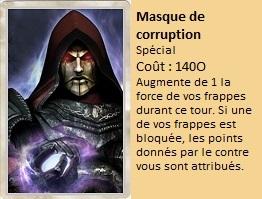 Liste des cartes Illusion Masque12