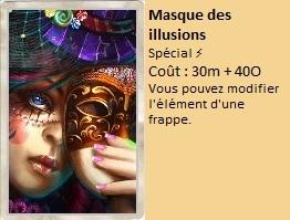 Liste des cartes Illusion Masque14
