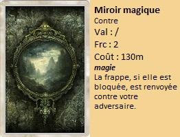 Liste des cartes Illusion Miroir11