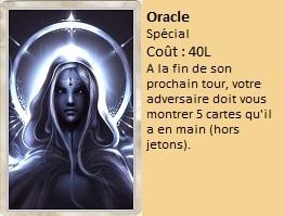 Liste des cartes Illusion Oracle13