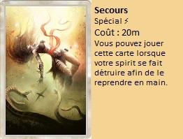 Liste des cartes Illusion Secour11